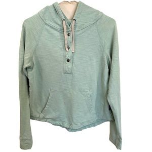 Patagonia Necessity Terry Hooded Pullover mint XS